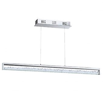 Eglo Cardito 6 Light LED Ceiling Pendant Polished Chrome