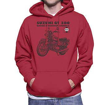 Haynes Owners Workshop Manual Suzuki GT 380 Triple mannen Hooded Sweatshirt