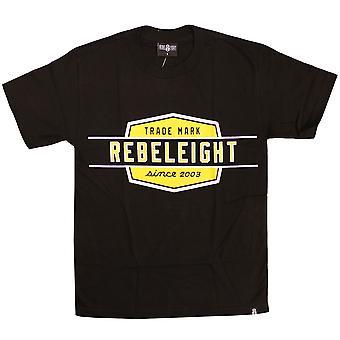 Rebel8 trabajo gran tamaño Badge camiseta negro