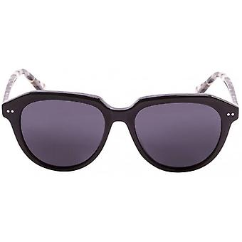 Ocean Mavericks Sunglasses - Shiny Black/Demy Brown/Smoke