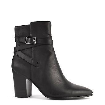 Ash Footwear Kim Black Leather Heeled Boot