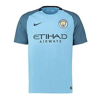 2016-2017 Man City Home Nike Football Shirt