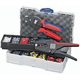 Knipex Crimp assortments with notching pliers and wire strippers