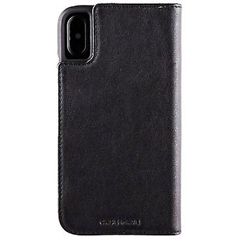 Case-Mate pochette Folio iPhone Case X - noir