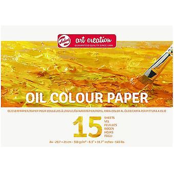 Royal Talens Art Schöpfung A4 Öl Farbe Papierblock