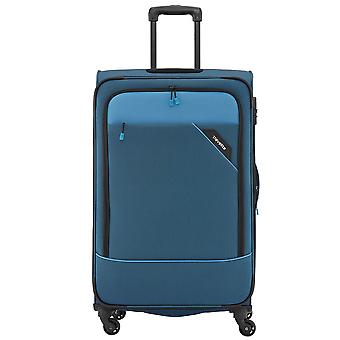 Travelite Derby 4-roller soft luggage trolley suitcase L 77 cm, 3.5 kg