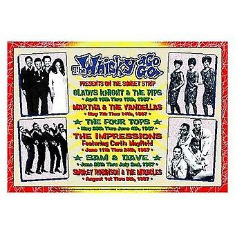 Motown Revue 1967 Whisky-A-Go-Go Los Angeles Poster Print by Dennis Loren (20 x 14)