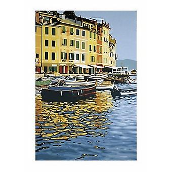 Portofino La Calata Poster Print by Guglielmo Meltzeid (20 x 28)