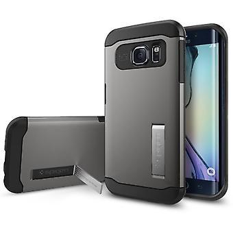 Spigen Samsung Galaxy S6 kant sag Slim rustning serie - Gunmetal