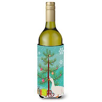 Sebastopol Goose Christmas Wine Bottle Beverge Insulator Hugger