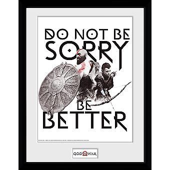 God of War må ikke være ked af Collector Print 40x30cm