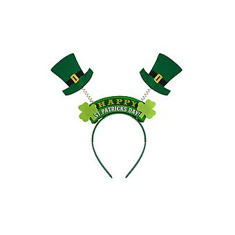St Patrick's Day Headband With Leprechaun Hats Fancy Dress Accessory