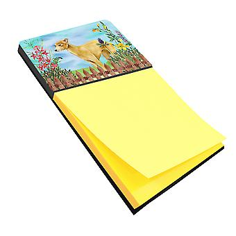 Carolines Treasures  CK1260SN Italian Greyhound Spring Sticky Note Holder