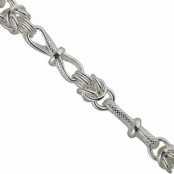 Silver fancy handmade Necklace Chain 22 inches