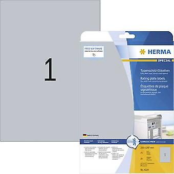 Herma 4224 Labels (A4) 210 x 297 mm Polyester film