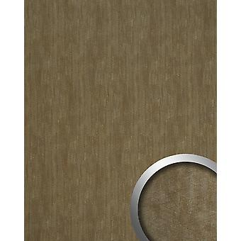 Wall Panel metal optics WallFace 20194 METALLIC USED bronze AR wall tiling in the used look and with metallic accents adhesive abrasion resistant bronze grey brown 2,6 m2