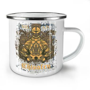 Chivalry Knight Fantasy NEW WhiteTea Coffee Enamel Mug10 oz | Wellcoda