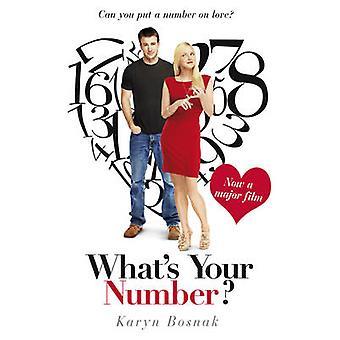 Wat is uw nummer door Karyn Bosnak