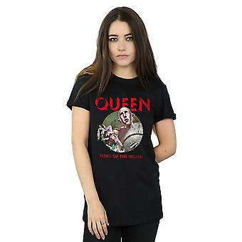 Queen Women's News Of The World Boyfriend Fit T-Shirt