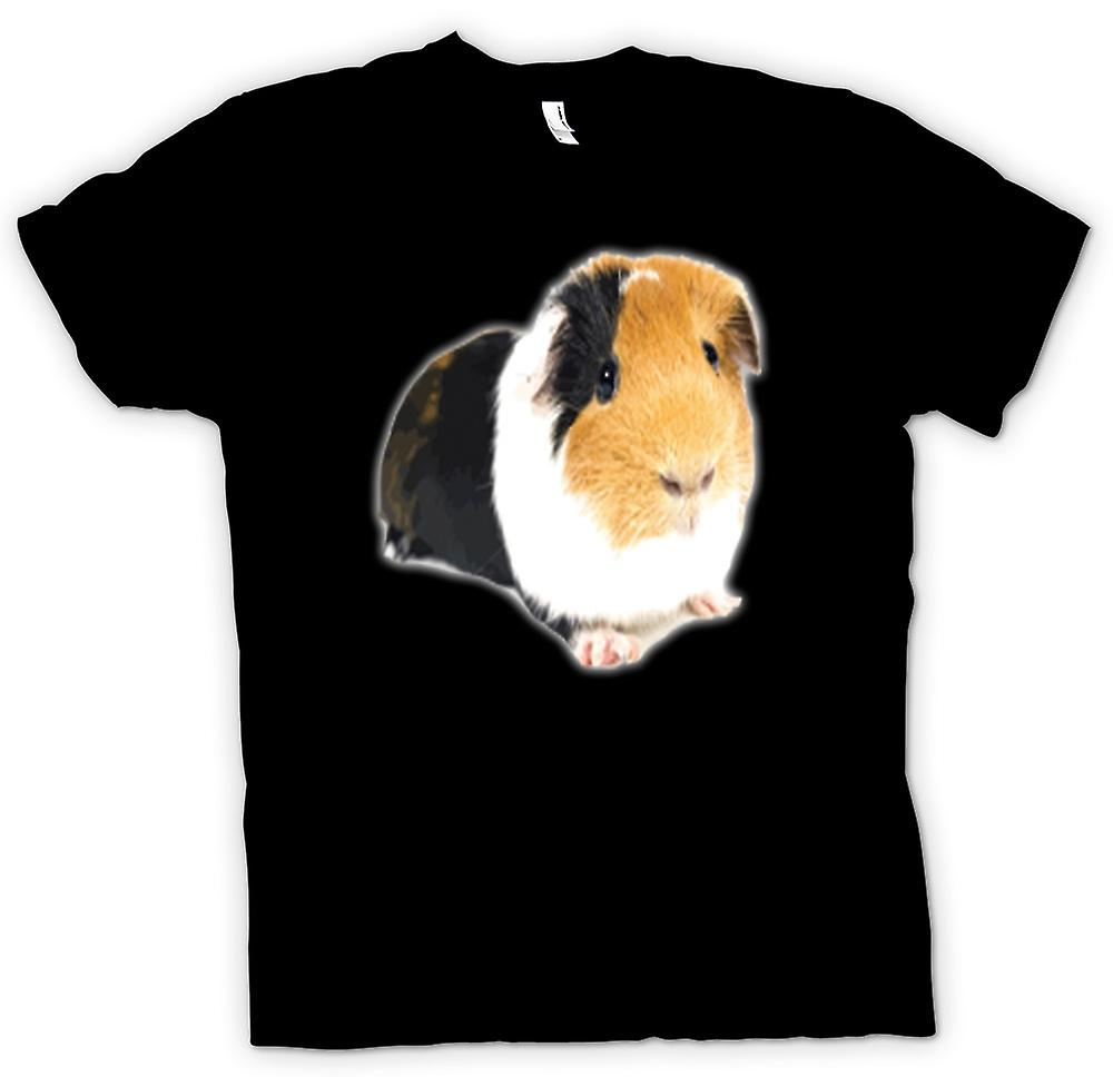 Kids T-shirt - Guinea Pig Brown And White