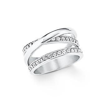 s.Oliver jewel ladies ring stainless steel Silver 202105