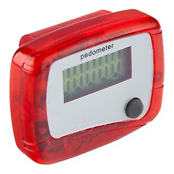 Mini Pedometer-Red