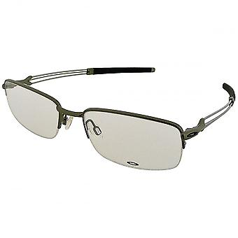 Oakley Oakley Men's Pewter Ballista Rectangular Glasses (53mm)