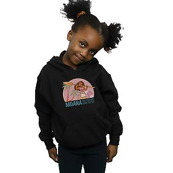 Disney Girls Moana Read The Sea Hoodie