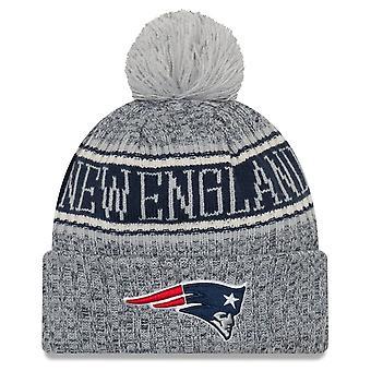Nowa era NFL linii bocznej odwrócić Cap - New England Patriots