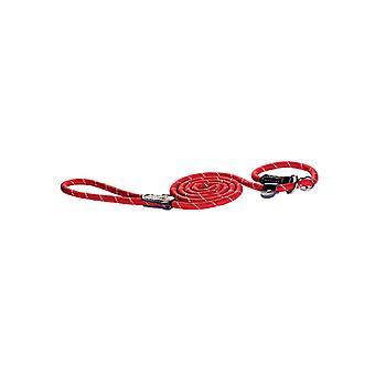Rogz touw Moxon Slip Lead rood