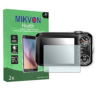 Fujifilm FinePix JV200 Screen Protector - Mikvon Health (Retail Package with accessories)