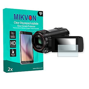 Panasonic HC-W858 Screen Protector - Mikvon Clear (Retail Package with accessories)