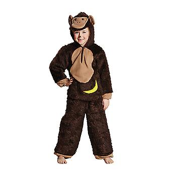 Chimpanzee monkey animal costume for children