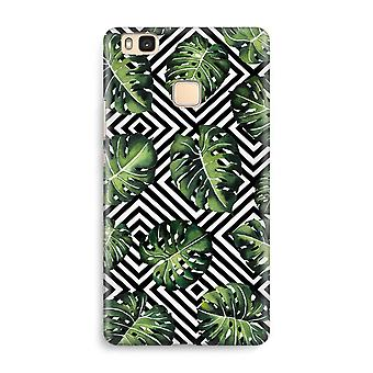 Huawei P9 Lite Full Print Case - Geometric jungle