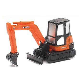 Die-Cast 1:64 Scale, Kubota KX040-4 with Pull Back Action