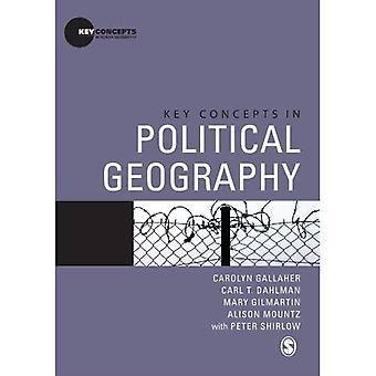 Kluczowe pojęcia w Geografia polityczna (najważniejsze pojęcia dotyczące geografii człowieka)