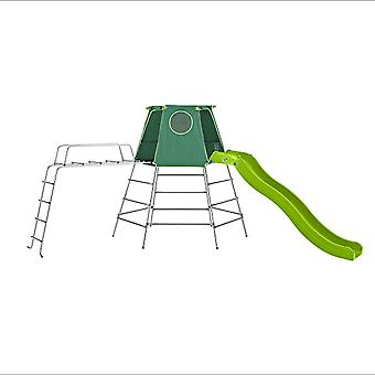 TP Toys Explorer Metal Climbing Frame Set With Slide and Jungle Run 18 Months+