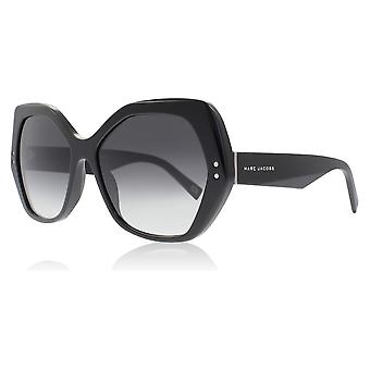 Marc Jacobs Marc 117/S 807 Black Marc 117/S Butterfly Sunglasses Lens Category 2 Size 56mm