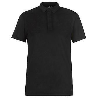 Firetrap Mens seal Embroidered Polo T Shirt T-Shirt Short Sleeve Top