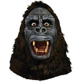 King Kong Latex-Maske für Erwachsene