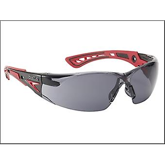 Bollé Safety Rush+ Platinum Safety Glasses Smoke