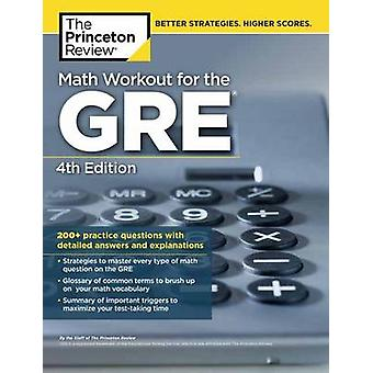 Math Workout for the GRE by Princeton Review - 9780451487865 Book