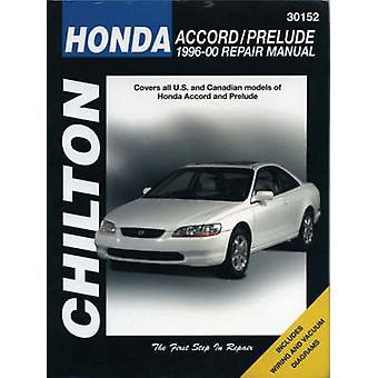 Honda Accord/Prelude 1996-00 (New edition) by Chilton - The Nichols/C