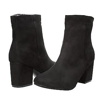 Sara Z Womens Microsuede Ankle Boots