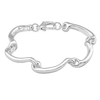Wave - 925 Sterling Silver Silver Heavy - W39104X