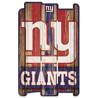 Wincraft PLANK Wood Sign Wood Sign - NFL New York Giants