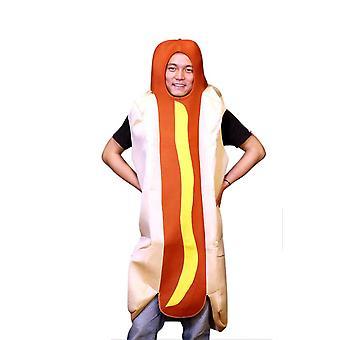 Hotdog Erwachsenen Kostüm
