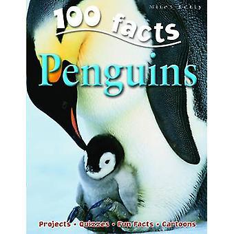 100 Facts on Penguins by Camilla De la Bedoyere - 9781848101036 Book