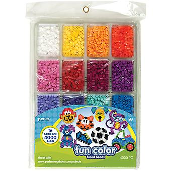 Perler Fun Fusion Beads 4000 Pkg Fun Color 80 17513