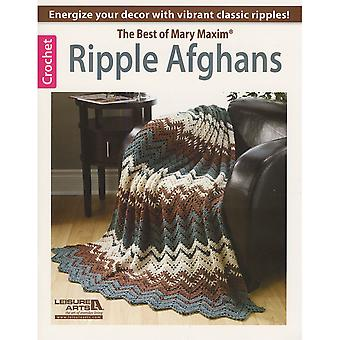 Leisure Arts Ripple Afghans The Best Of Mary Maxim La 6186